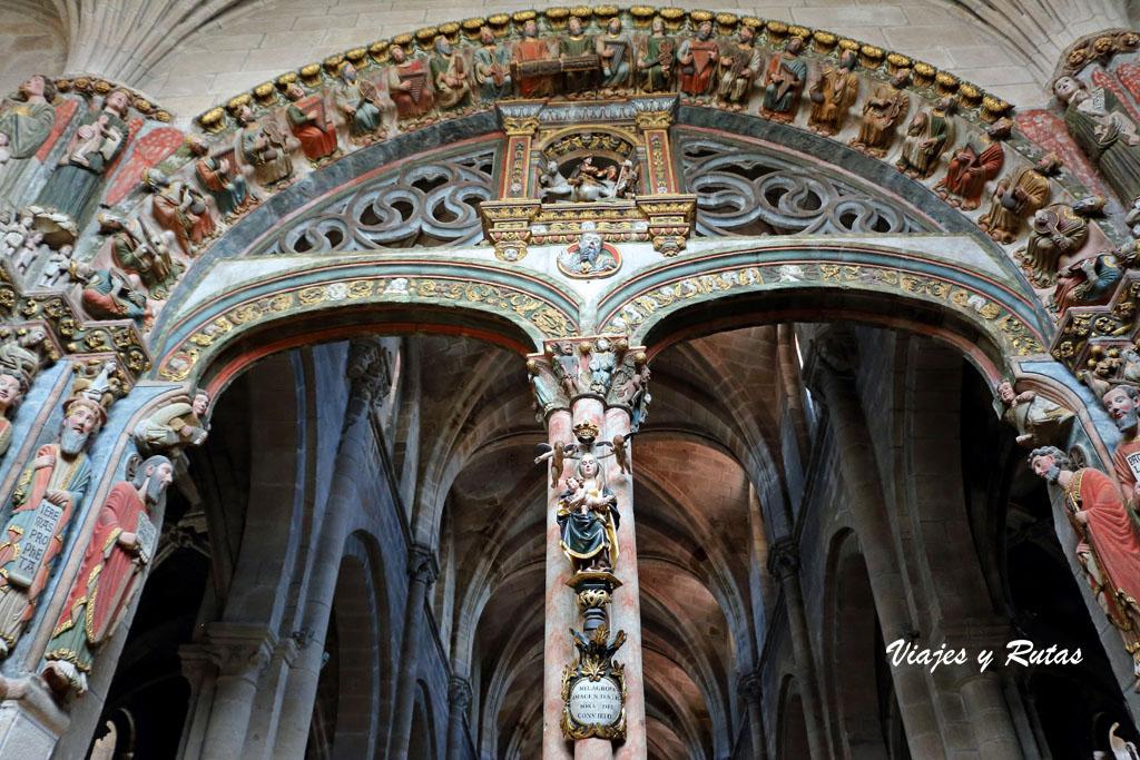 Pórtico del paraíso, catedral de Ourense