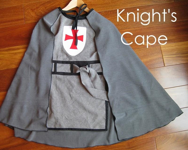 DIY Knight Costume - Part 2 & My Handmade Home: DIY Knight Costume - Part 2