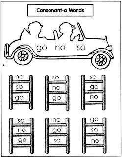 Consonant O Reading Drills