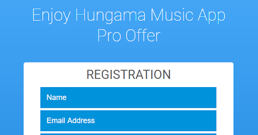 Official Coupon: Get Free Hungama Pro Subscription