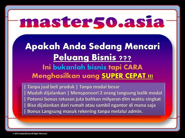 Club Master 50 Bukan Bisnis