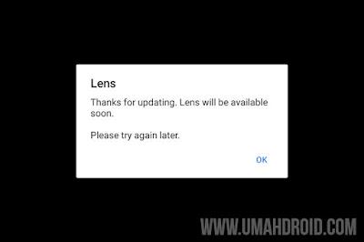 Memperbaiki Google Lens Error di Android
