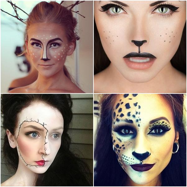 Resultado de imagem para inspiração halloween maquiagem