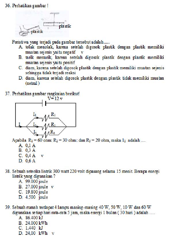 Soal Un Ipa Sd Tahun 2016 Soal Kurikulum 2013 Download Kisi Kisi Soal Ujian Nasional Un Smp