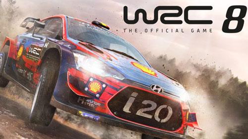 لعبة WRC 8 FIA WRC xbox