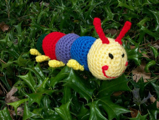 Plush Toy Caterpillar
