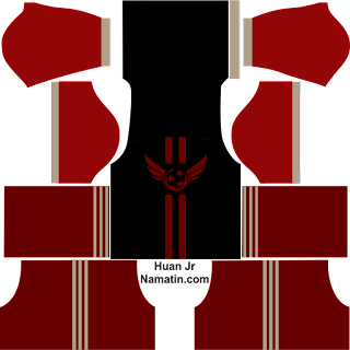 Kostum DLS Futsal Black Steel