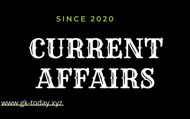 Current Affairs 2020 in Hindi | Gk Today Hindi  2020