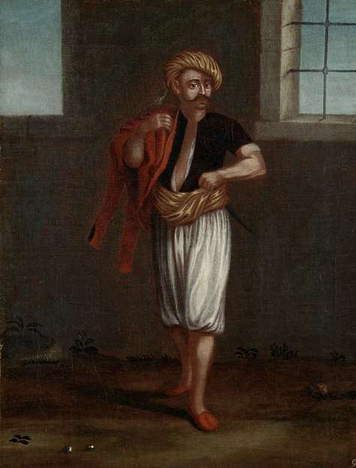 An Albanian sailor