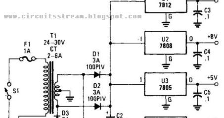 simple multivoltage power supply wiring diagram schematic wiring and schematic. Black Bedroom Furniture Sets. Home Design Ideas