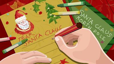 Kerstkaarten schrijven