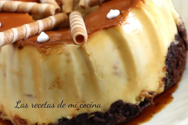 Brownie-Flan