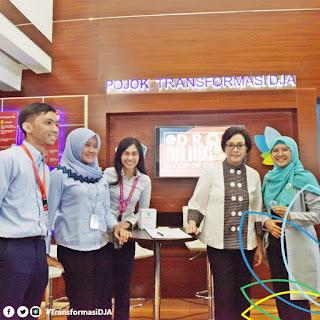 Menteri Keuangan di Pojok Transformasi DJA