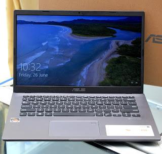 Laptop Second ASUS M409DA AMD R3-3200 Fullset