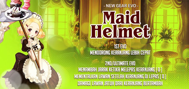Maid Helmet Evolution Lost Saga Indonesia