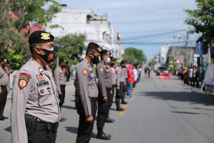 Pengesahan UU Omnibus Law Buat Indonesia Bergejolak, Polres Inhil Deklarasikan Masyarakat Cinta Damai