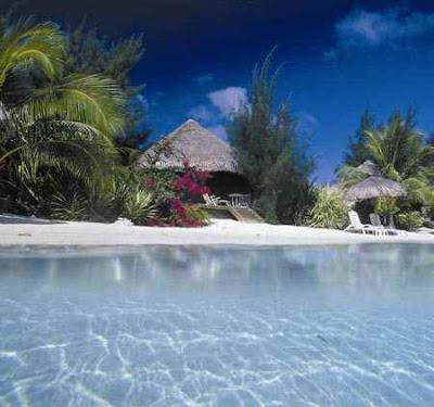 جزيرة بورا بورا Bora Bora أجمل جزيرة في العالم   شاهد عظمة الخالق