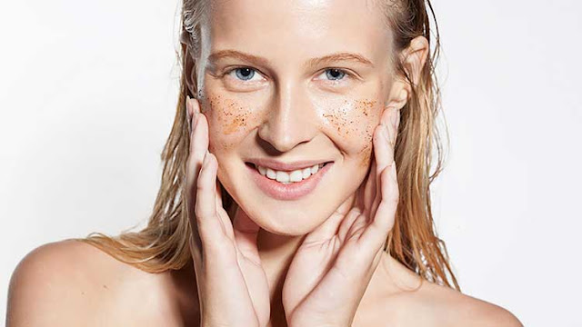 Regular exfoliation of facial skin