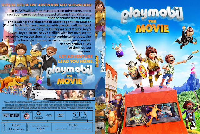 Playmobil: The Movie DVD Cover