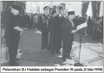 Kondisi Politik dan Kebijakan pada Masa Pemerintahan Habibie