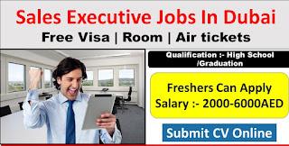 Requirement Sales Executive Jobs Vacancy Kirby Home Electronics Trading LLC Location Dubai