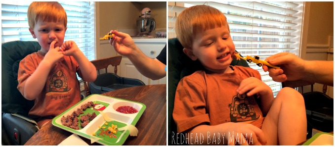 Getting some new foods into a toddler.  Picky Eaters no more!