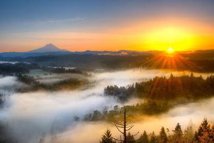 tips dan trik memotret sunset dan sunrise