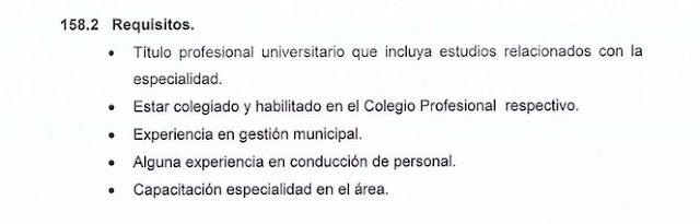 Diego Bazán no cumplía los requisitos para ser subgerente de la comuna trujillana.