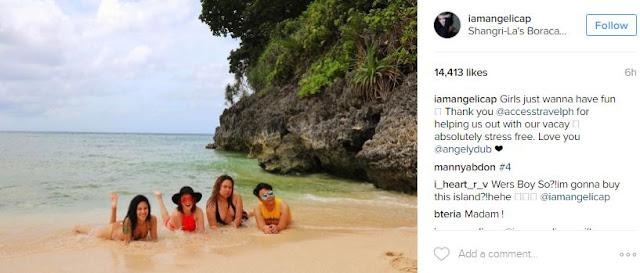 Bikini Models Angelica Panganiban Looks Smoking Hot In This Red Bikini!