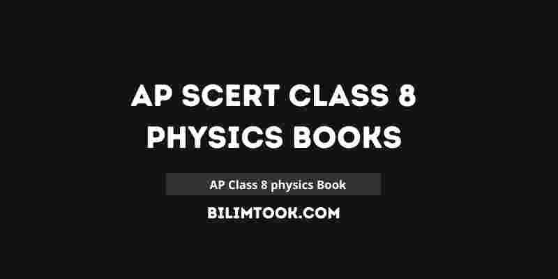 AP SCERT Class 8th Physics Book PDF Download 2021
