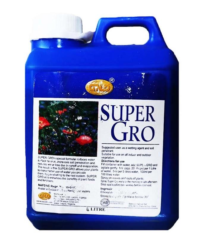 GNLD Super GRO Fertilizer 4 Liters