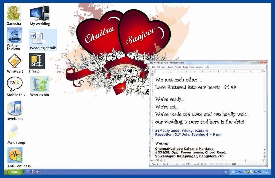 A Software Engineer S Wedding Invitation