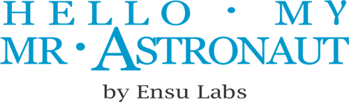 Logo Hello My Mr Astronaut by Ensu Labs