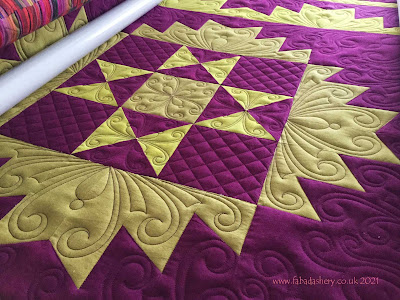 Pauline's Delectable Mountains in Cherrywood Fabrics