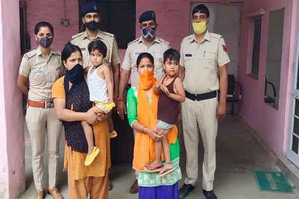 faridabad-naveen-nagar-police-chowki-searched-missing-kid
