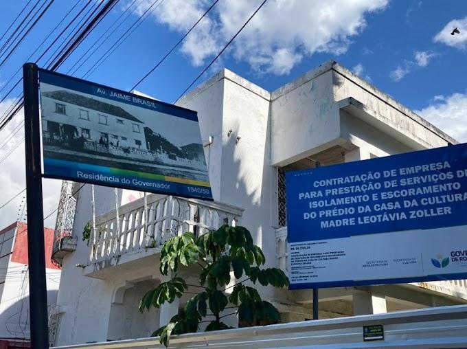 Obra de restauro da Casa da Cultura será licitada em 60 dias, garante governo