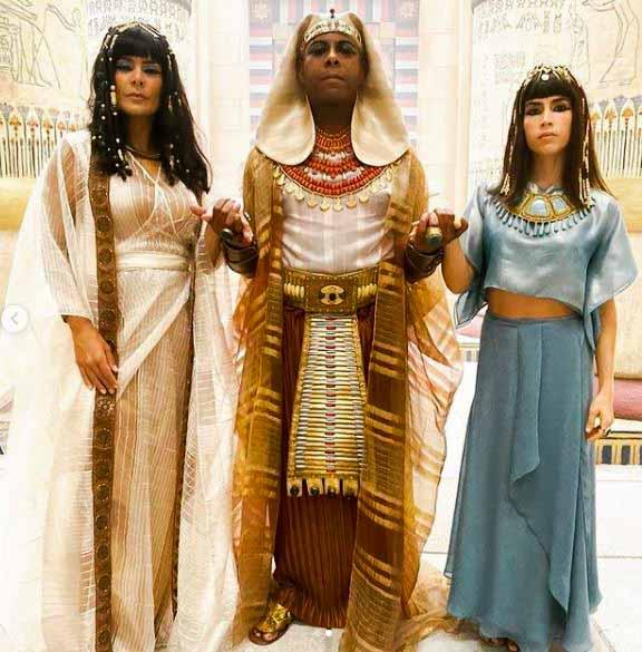 aat com farao e Khen