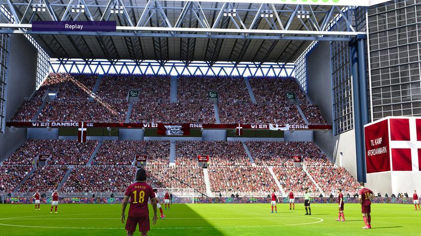 Stadium Telia Parken For eFootball PES 2021