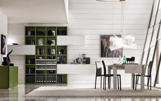 Living Room Bookshelves And Shelving Units