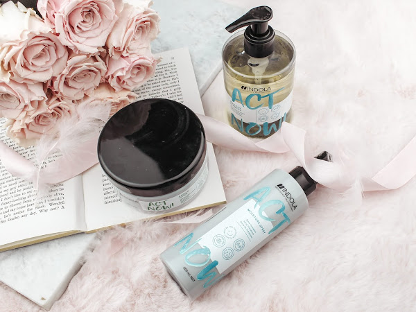 Indola ActNow Shampoo, Masker & Moisture Spray