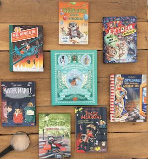 Detektivbücher für Kinder mit Tieren als Detektiv