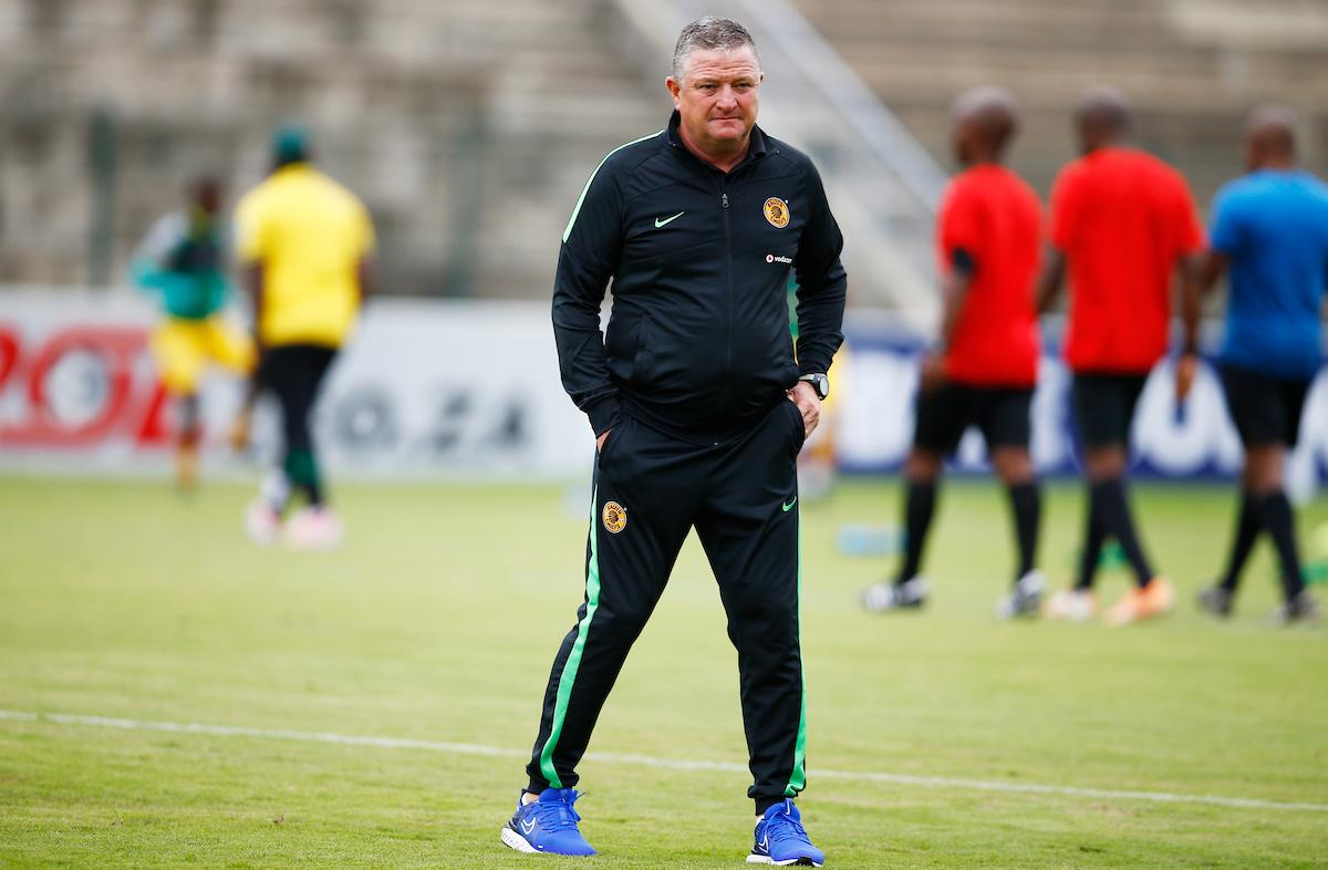 Kaizer Chiefs coach Gavin Hunt