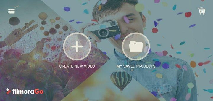 Fillmore Go free video editing app.