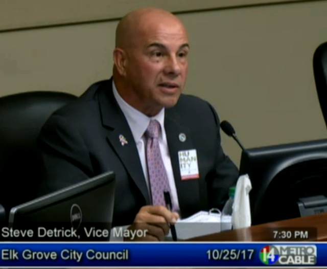 Vice Mayor Steve Detrick