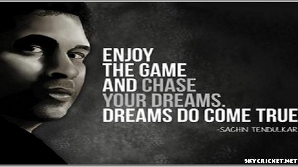 Sachin Tendulkar Inspirational Quotes