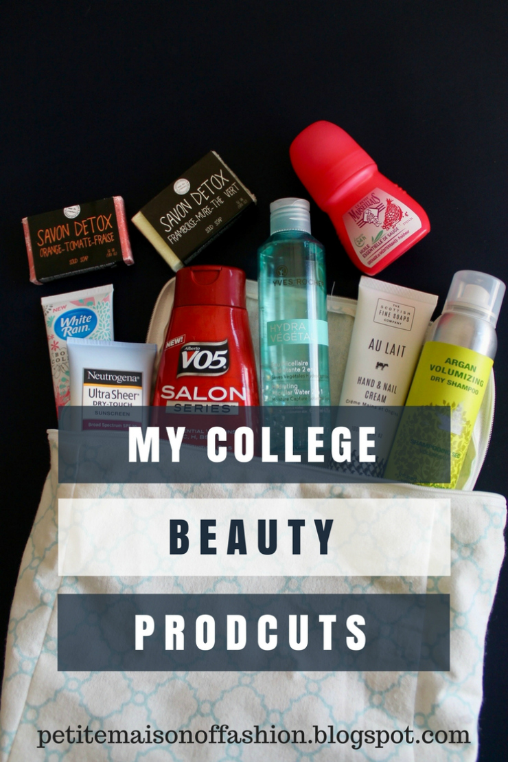 the go-to beauty products to have in college