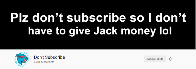 Don't subscribe channel having 450K+ subscribers without any conten