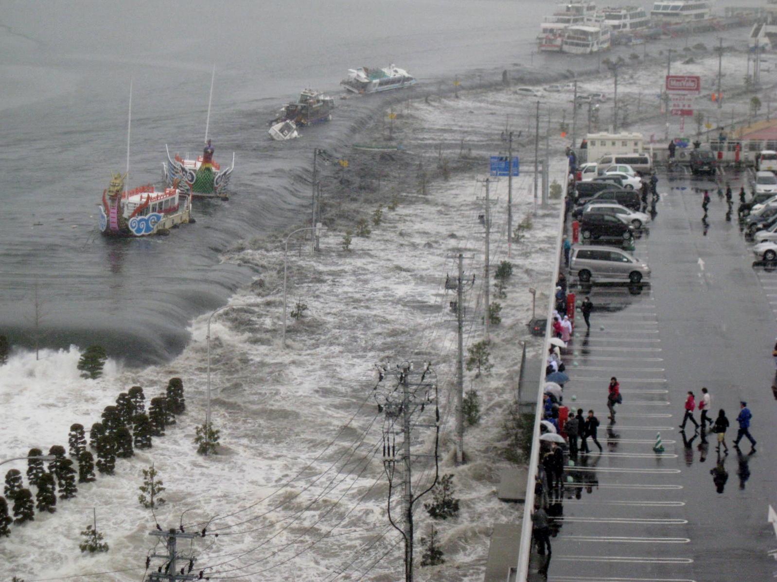 bigisland: 大地震と津波(9) t...