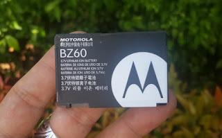 Baterai Motorola BZ60 Original V3xx Razr V6 Razr Maxx 900mAh