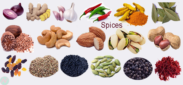 Learn All Spices Name With Image  Necessary Vocabulary -7050